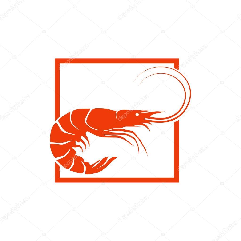 brine shrimp logo stock vector korniakovstock gmail com 123428982 rh depositphotos com shrimp logo restaurant shrimp logowanie