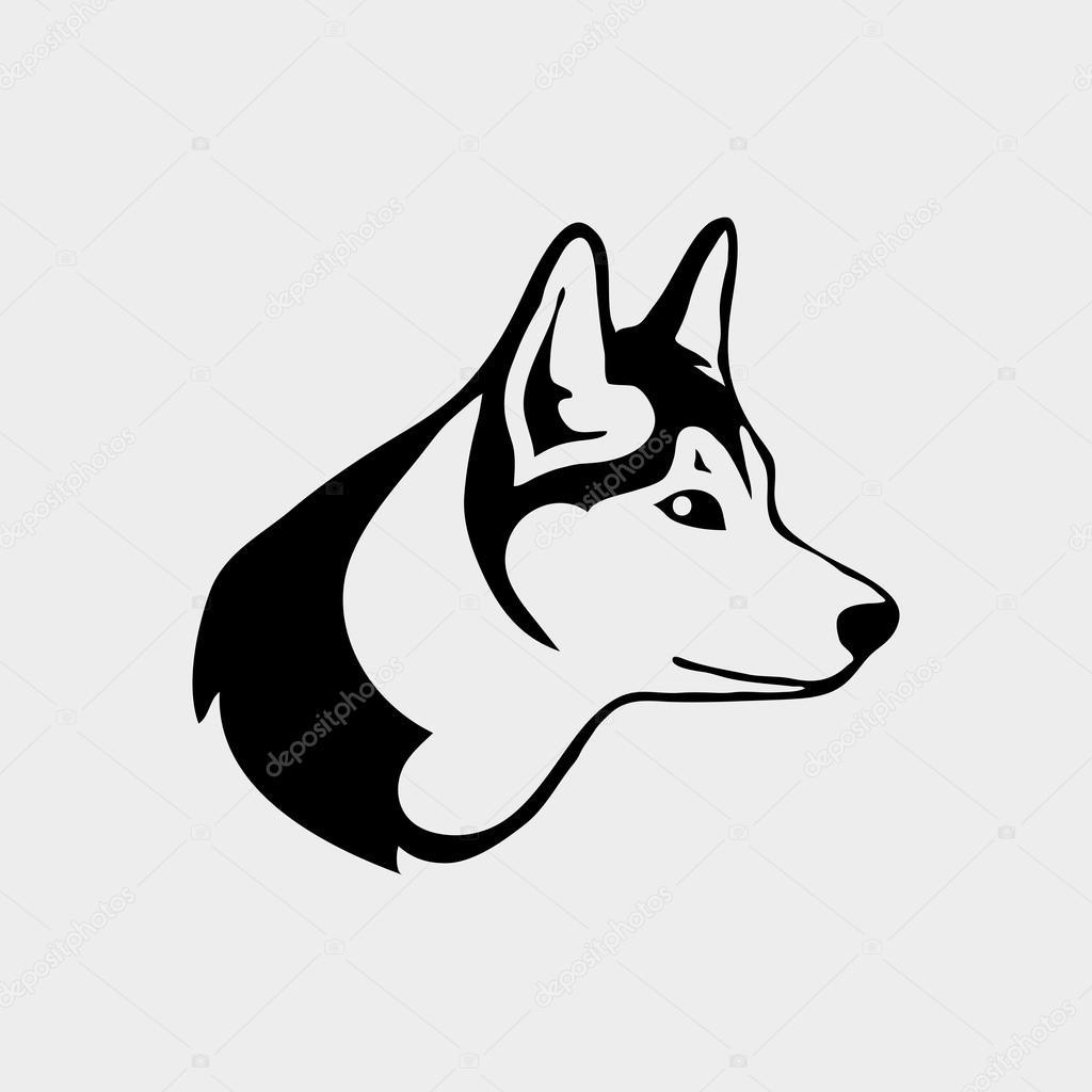 online retailer aa5a5 abe3f Vettore: loghi lupo | Logo con la testa di un lupo ...