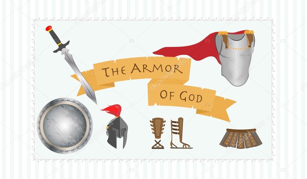 A armadura de deus mensagem de cristianismo protestante - Armatura dell immagine del dio ...