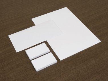 Set of branding corporate identity templates.