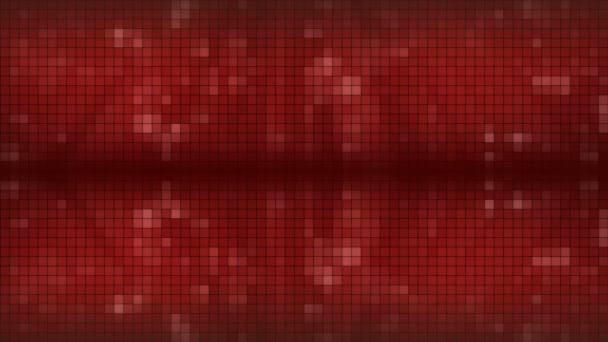 červená mozaika pozadí