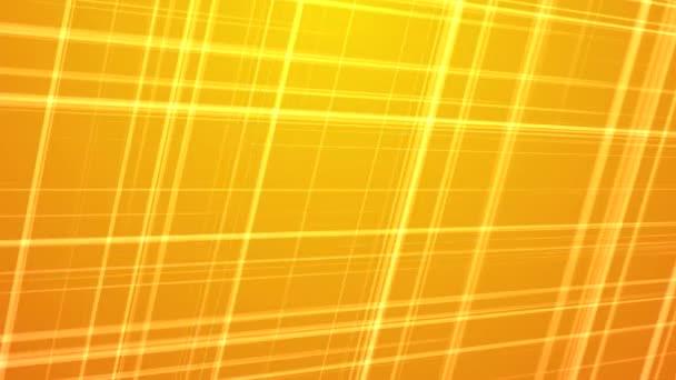 Metsző színes fraktál vonalak háttér - sárga