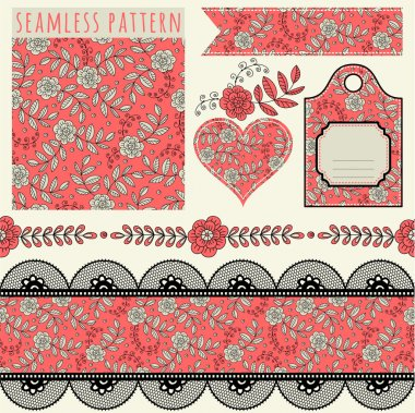 Vintage borders and elements