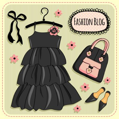 Dress and accessories