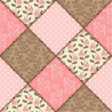 Seamless pattern patchwork.