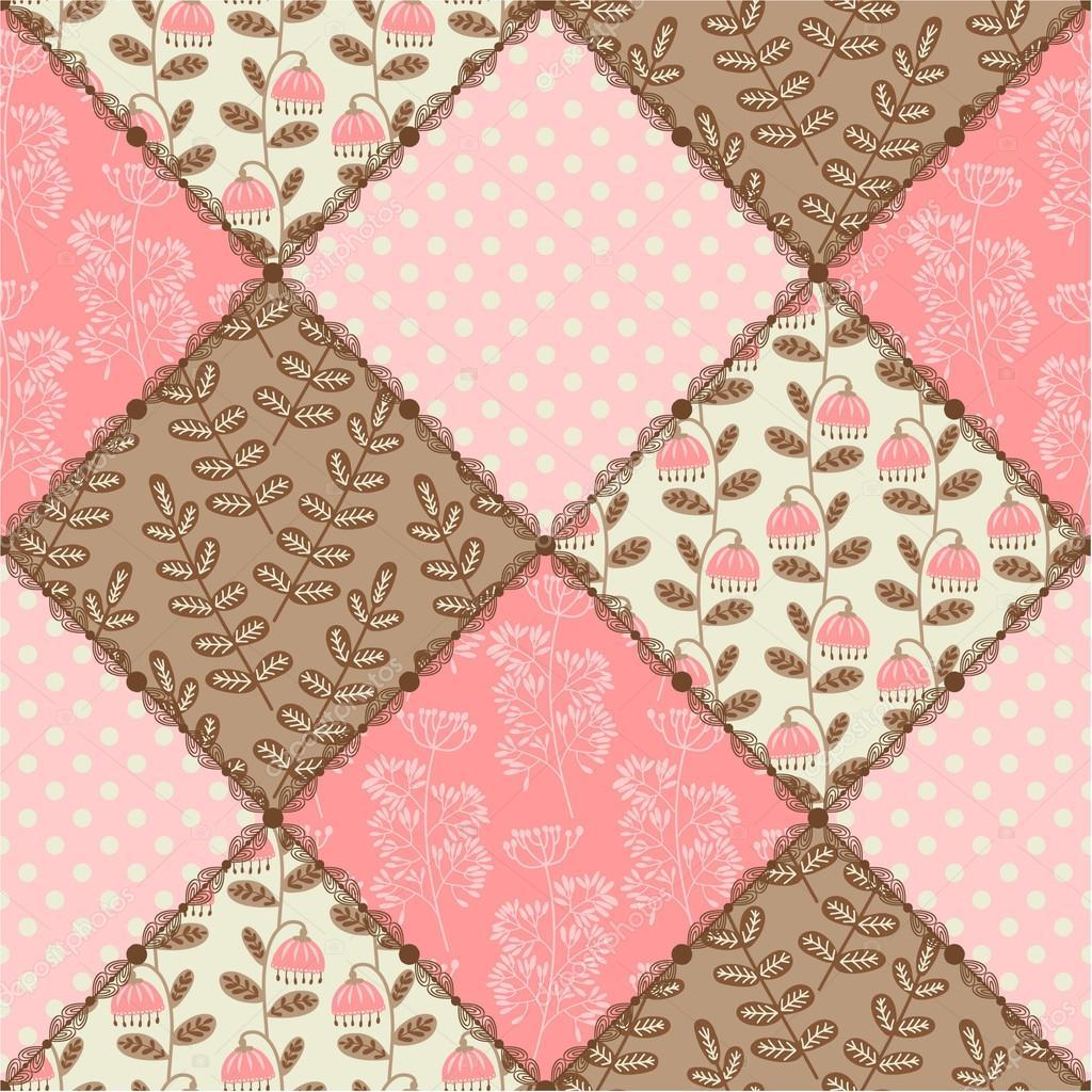 patchwork patrones sin fisuras vector de stock xenia ok 62722011. Black Bedroom Furniture Sets. Home Design Ideas