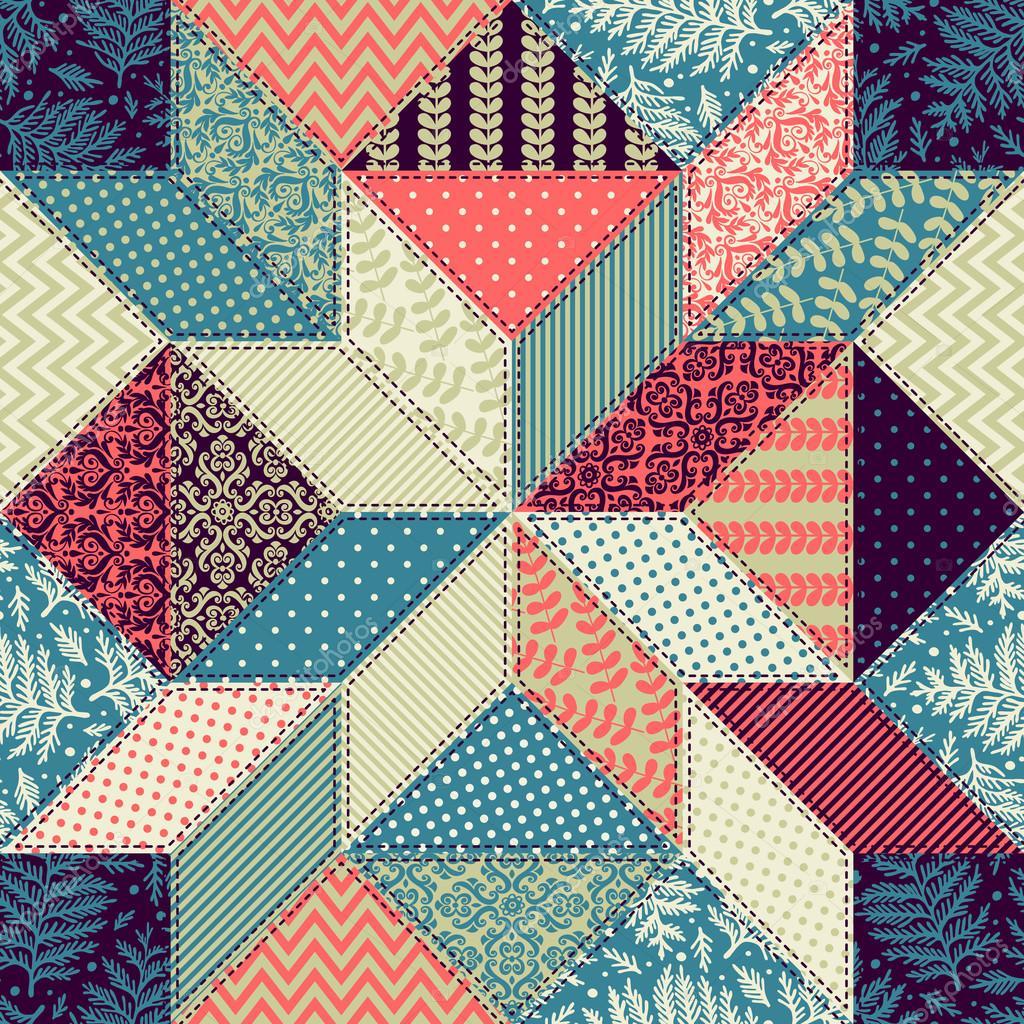 patchwork decorativo colorido vetores de stock xenia ok 91739824. Black Bedroom Furniture Sets. Home Design Ideas