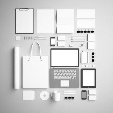 corporate identity Mock Up background