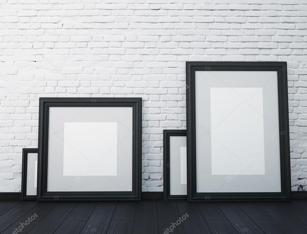 Modell schwarz Rahmen — Stockfoto © FilL239 #86766882