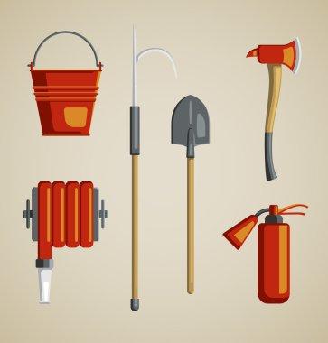 Equipment or volunteer fireman.