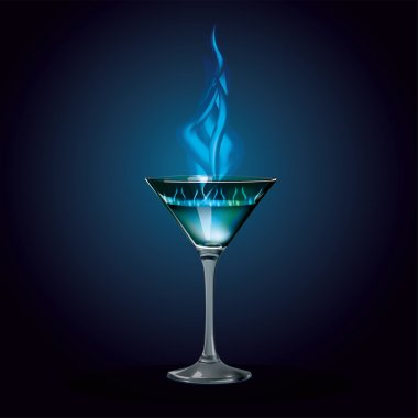The burning cocktail