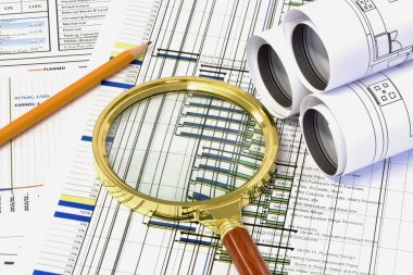 Examining Construction Progress Plan