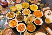 Egy ázsiai lakoma étel