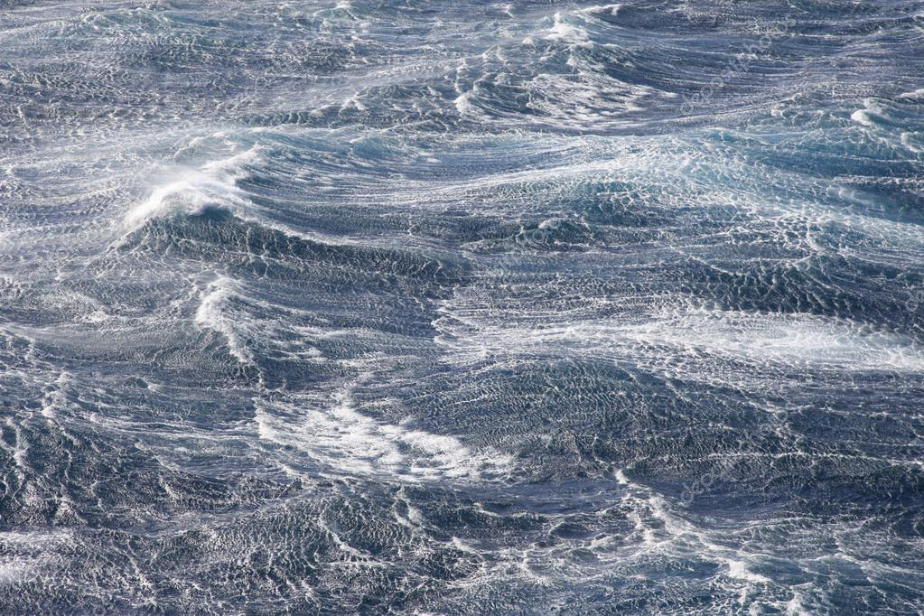Very rough seas