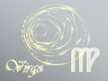 Gold zodiac sign