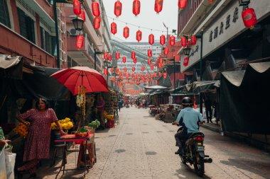 Morning hour in Chinatown, Kuala Lumpur, Malaysia