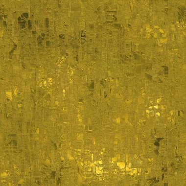 Golden Foil Seamless and Tileable Luxury background texture. Glittering holiday wrinkled gold background and shiny bright metal surface backdrop.