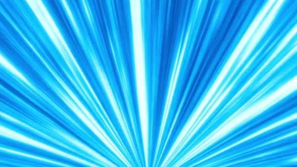 Abstraktní světle modré pruhy. Bezešvá smyčka animované pozadí