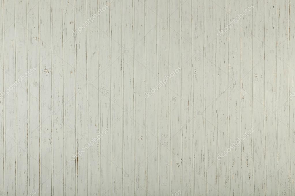White Wood Wall Texture U2014 Stock Photo