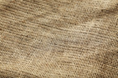 Background of natural burlap