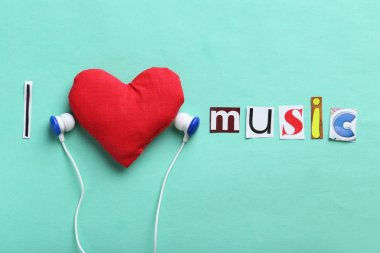I love music letters