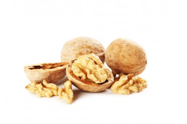 healthy walnuts in shells