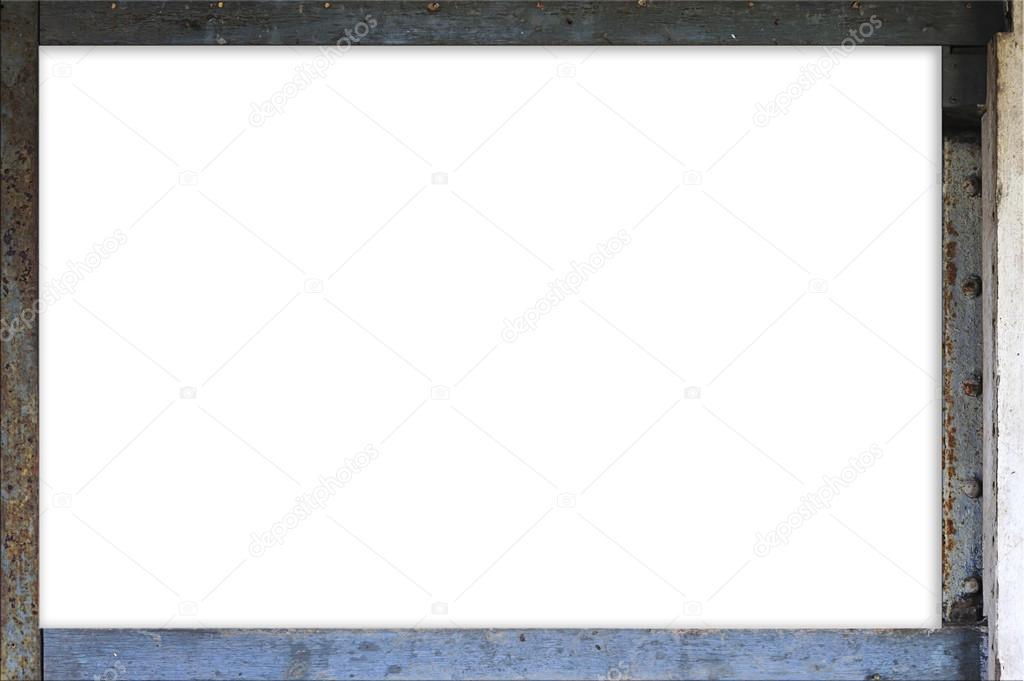 Rust border square frame — Stock Photo © tinna2727 #65460915