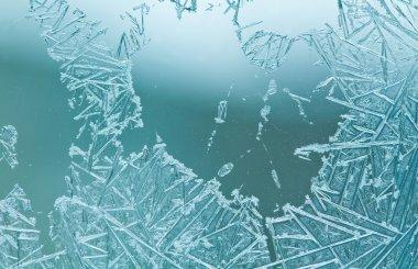 Frozen pattern on window