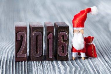 2016 year vintage card