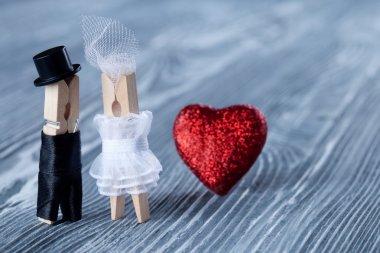 Wedding invitation. Valentines day