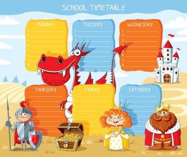School timetable kingdom