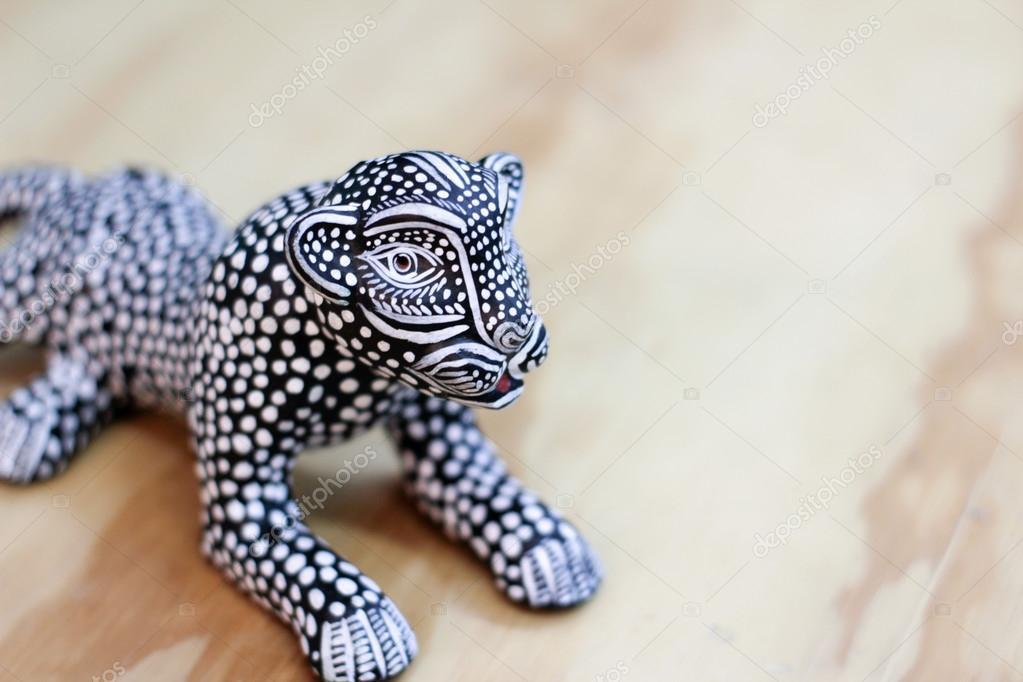 Black Jaguar Or Panther Statue Stock Photo C Bernardojbp 107108876