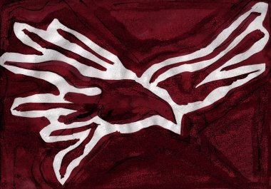 Holy Spirit symbol illustration
