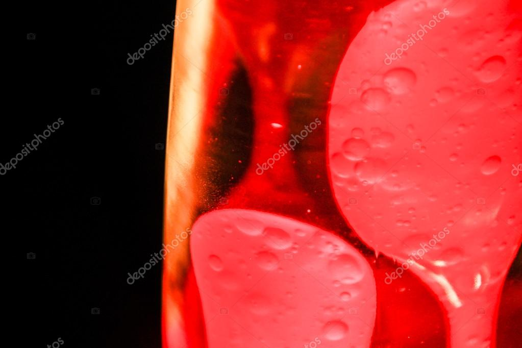 red lava lamp