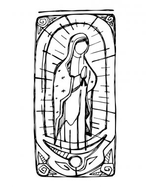 Mary Virgin of Guadalupe
