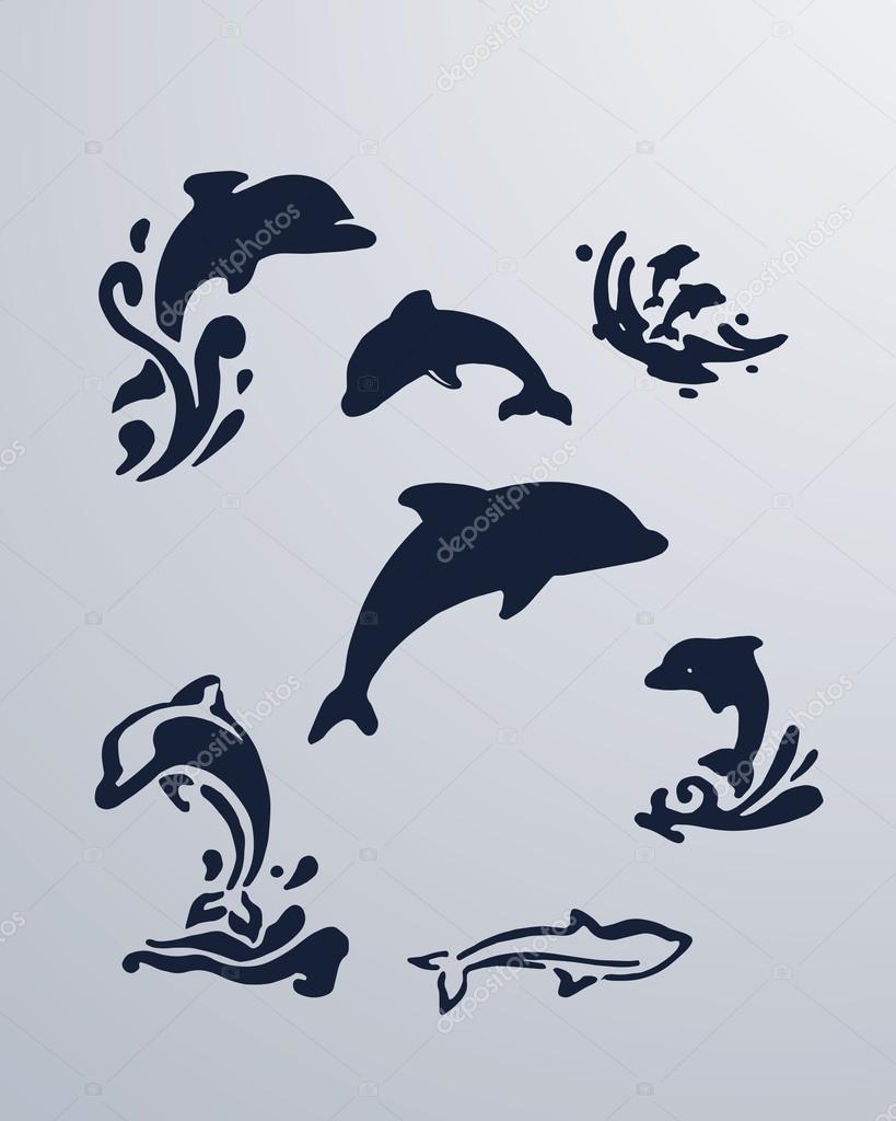 delfines rajzok - rajzok hd