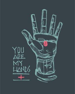 Jesus hand symbol
