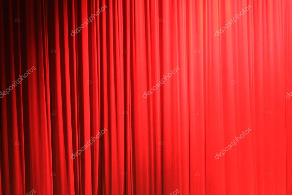 rode theater gordijn — Stockfoto © bernardojbp #92123988