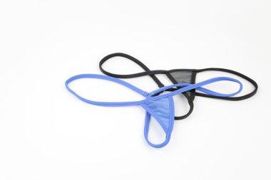 G-String lingerie isolated on white background