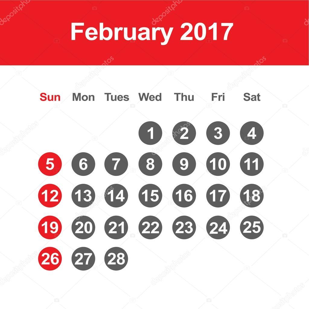 Großartig Kalendervorlage Februar 2015 Zeitgenössisch ...