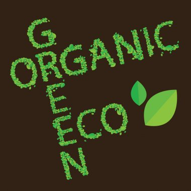 Concept of organic foods