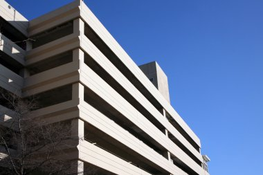 Multi level parking deck
