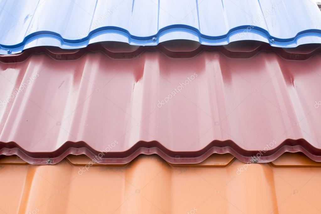 Material For Roofing Decking Stock Photo Maykal 105781744