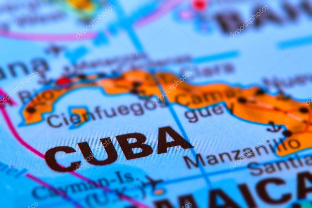 Cuba on the map stock photo outchill 106302482 cuba caribbean island on the world map photo by outchill gumiabroncs Choice Image