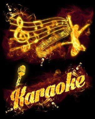 Yangın Karaoke seti