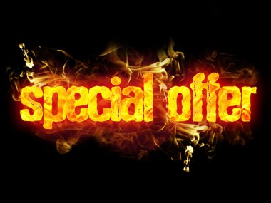 Fire Text Special Offer