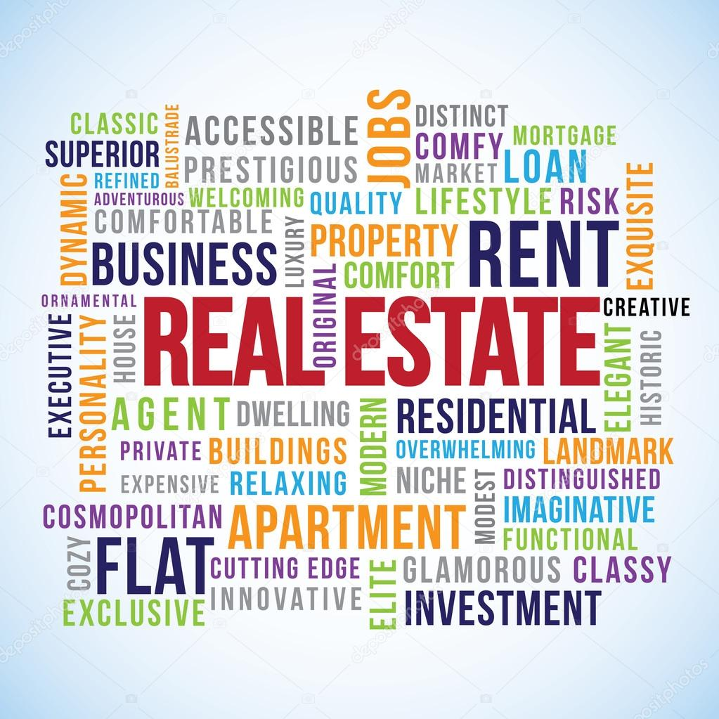 Real Estate Word Cloud — Stock Vector © outchill #71447891