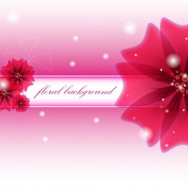 Floral background. Vector illustration stock vector