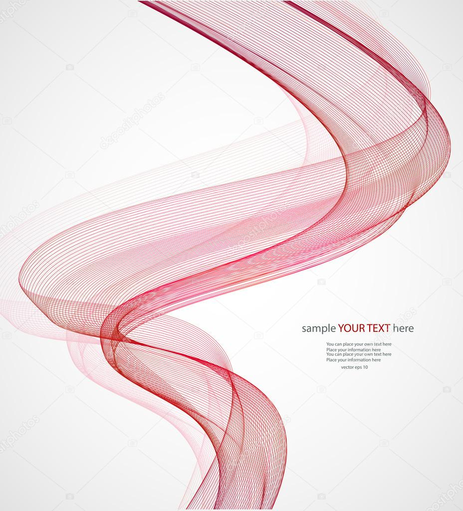 Red waves on gray background stock vector kovadenys - Redes de pesca decorativas ...