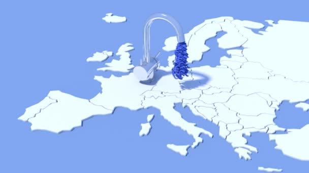 Koncept nabídky EUR od Evropské centrální banky